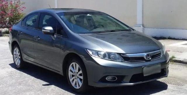 Honda Civic 2014/14 Lxr 2.0 Automático +C.Borb.E bancos Decouro - Foto 2