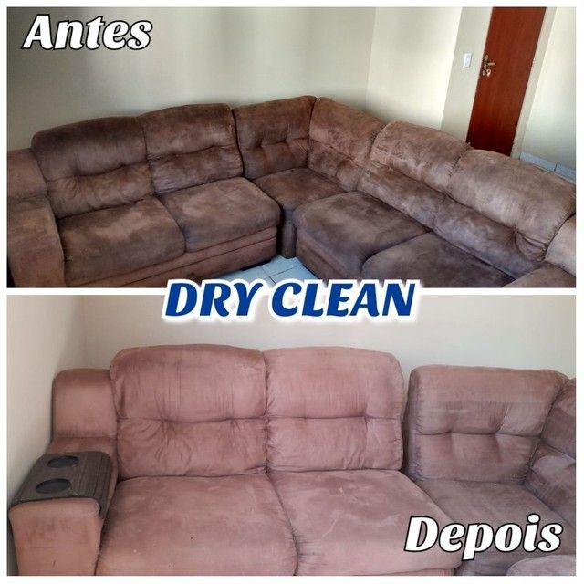 Limpeza e higiênização de estofados - Foto 4