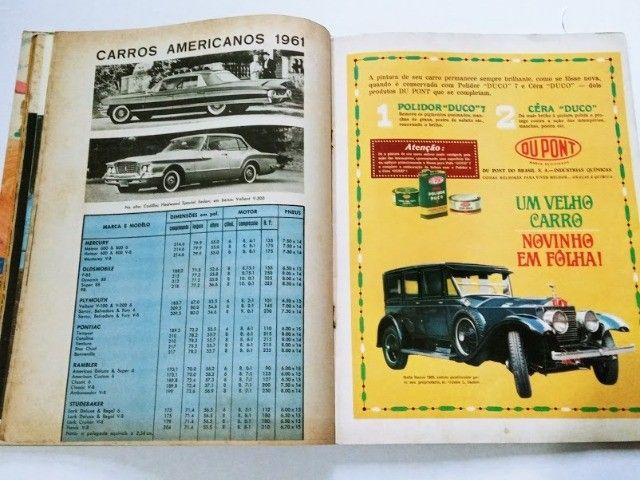 Quatro Rodas Nº9 Abril 1961 - FNM J.K., Candango, Dauphine - Foto 4