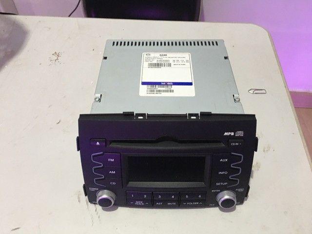 Som Radio Original Kia Sorento 2012 cod: 961402P400AMCA - Foto 6