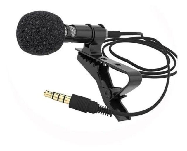 Microfone Lapela Celular Profissional Stereo iPhone Android - Foto 3