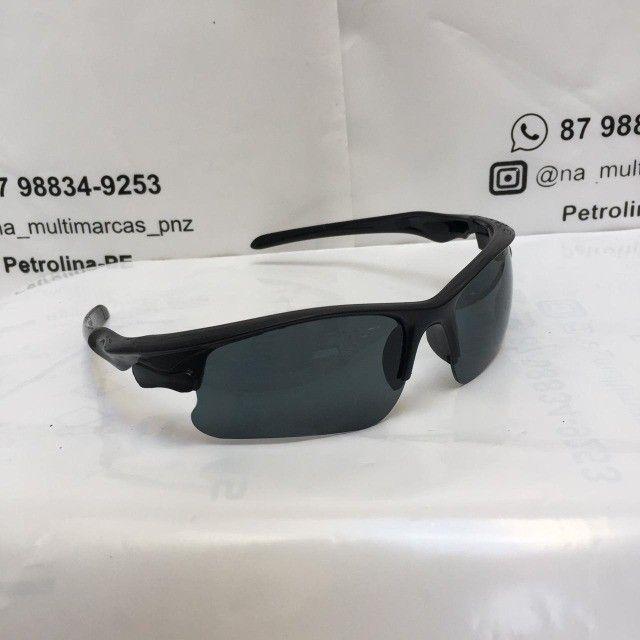 Oculos De Sol Escuro Esportivo Bike Corrida - Foto 2