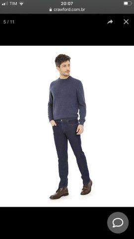 Calça jeans masculina Crawford Tam 40 - Foto 3