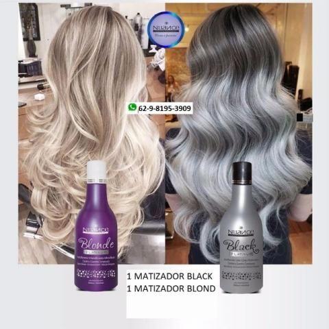 Mascaras nuance black ++ blonde