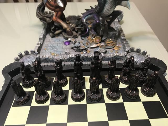 Vendo Tabuleiro de xadrez de luxo - Foto 6