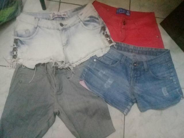Lote de short jeans