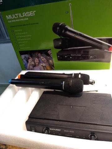 2 Microfones sem fio - Foto 4