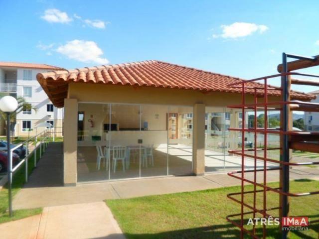 Apartamento com 2 dormitórios para alugar, 67 m² por r$ 600,00/mês - setor perim - goiânia - Foto 14