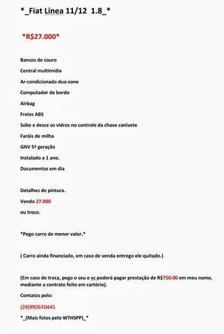 Fiat Linea 11/12 1.8 - Foto 3