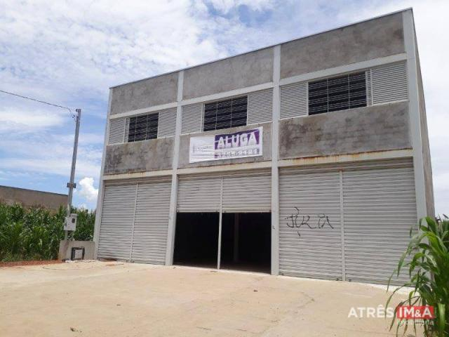 Galpão para alugar, 0 m² por r$ 4.500,00/mês - residencial center ville - goiânia/go