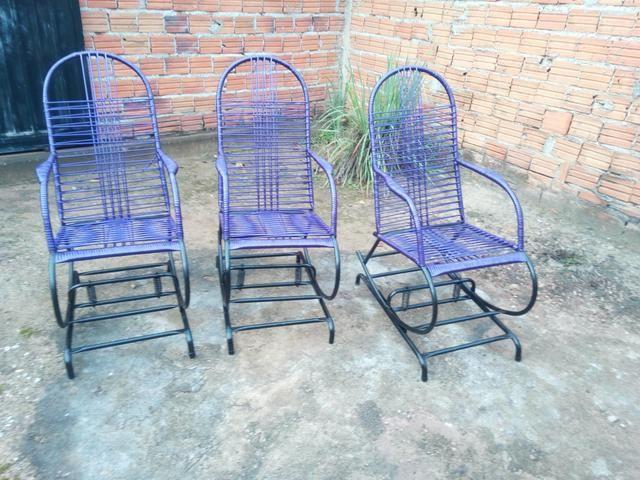 Reforma de cadeiras de balanco e venda
