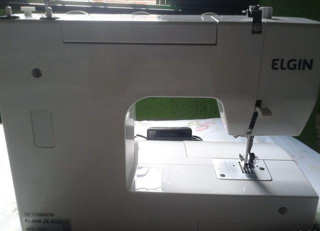 Máquina de costura Elgin urgente 480,00$ - Foto 5