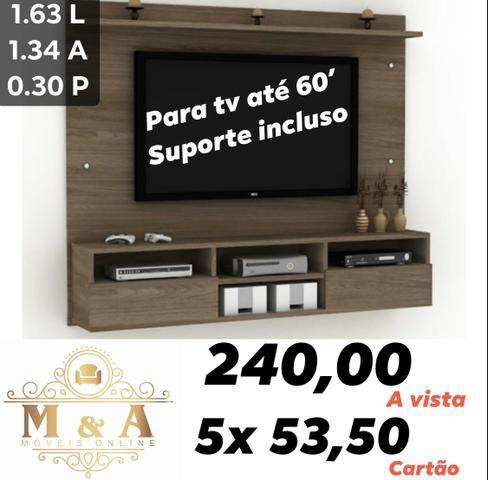 Painel Espanha (Tv até 60) Com suporte brinde