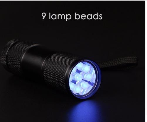 Lanterna de Luz UV - Identifique cédulas falsas - documento falsos e etc - Foto 4