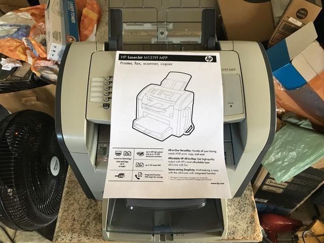 Impressora Multifuncional Laser Monocromática HP M1319 - Foto 6