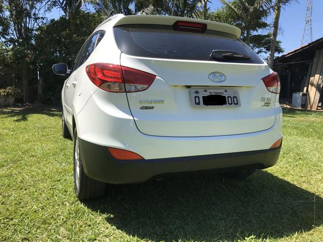 Hyundai IX 35 2015 branca Flex Aut. IMPECAVEL - Foto 3