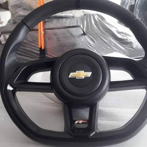 Volante GTI Cor preto para Celta, Corsa Classic, Corsa Wind, prisma