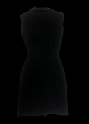 Vestido Curto preto com Botoes - Foto 4