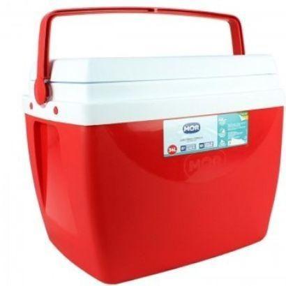 Caixa Térmica 34 Litros MOR Azul ou vermelha - Foto 2