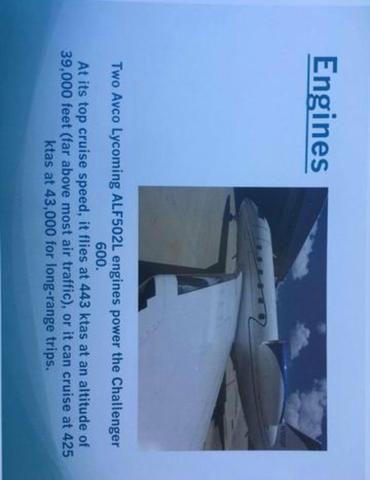 Avião Challenger 600 1982 - Foto 12