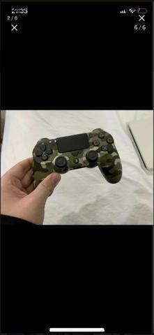 Vendo ps4 branco 500gb com 2 jogos e 2 controles - Foto 6