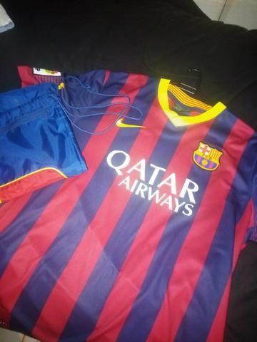 Kit camiseta + bolsa barcelona - Foto 2