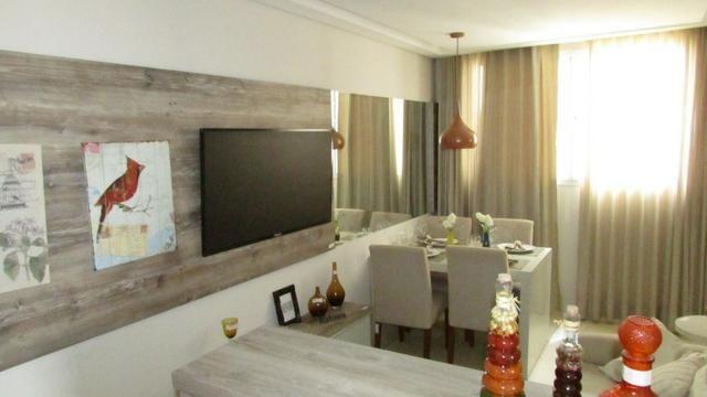 Apartamento 2/4 entrada parcelada em 72 x - 1 ano gratis de condominio - Pronto para Morar - Foto 6