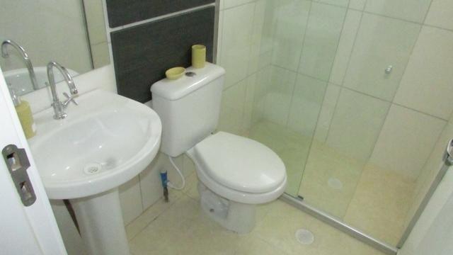 Apartamento 2/4 entrada parcelada em 72 x - 1 ano gratis de condominio - Pronto para Morar - Foto 15