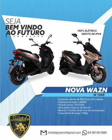 Moto scooter patinete elétrica promoção - Foto 3