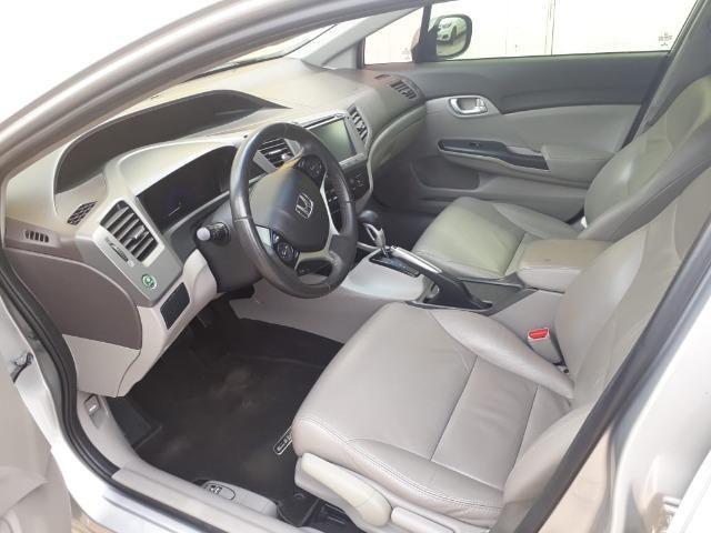 Honda Civic 2.0 LXR com kit multimídia original - Foto 6