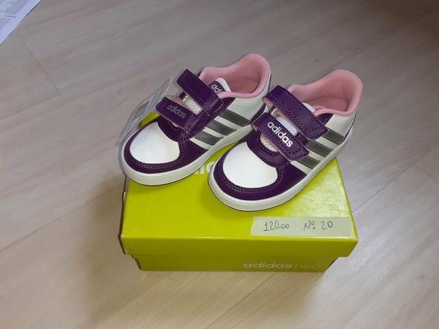 Tênis infantis Adidas Originais NOVOS