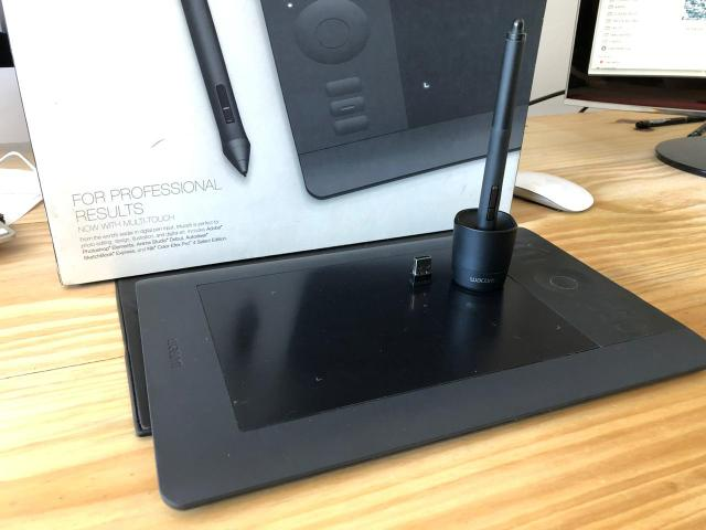 Wacom intuos 5 touch + adaptador wireless - Foto 2