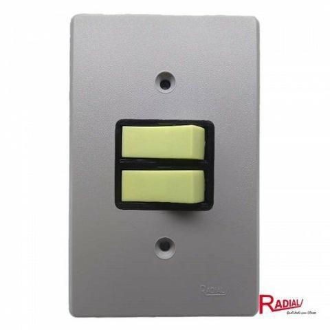 Interruptor duplo radial