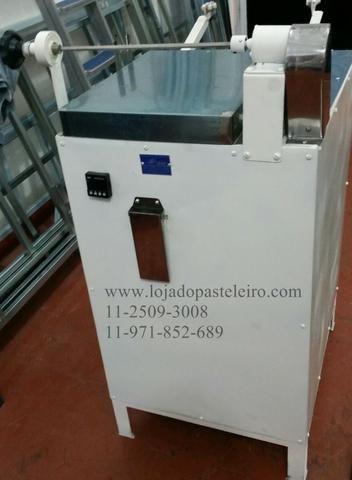 Enrolador ou Enrroladeira Leão para massas de pastel Profissional/Rolinhos Massa Pastel - Foto 4