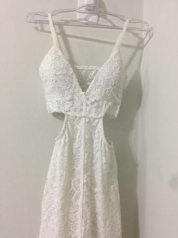 Vestido branco R$100 - Foto 2