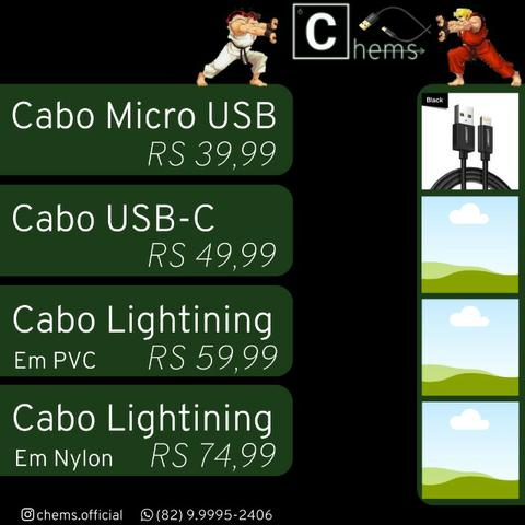 Cabos IOS e Android - Foto 2