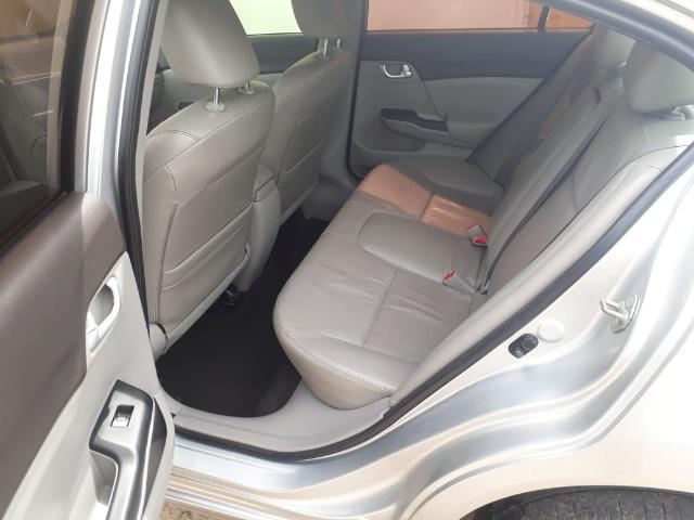Honda Civic 2.0 LXR com kit multimídia original - Foto 9
