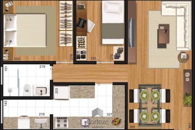 Apartamento 2 quartos no Campo Comprido - Foto 13