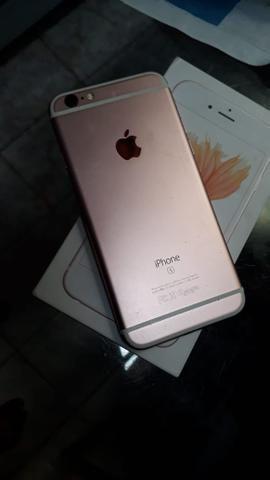 Vendo iPhone 6s 32g semi novo qualquer coisa chame no zap * pode ligar tbm