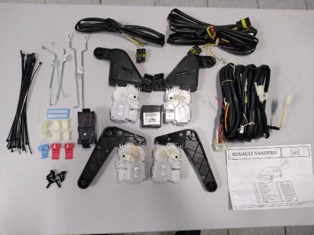 *1-Kit Trava Elétrica Renault Sandero 2014