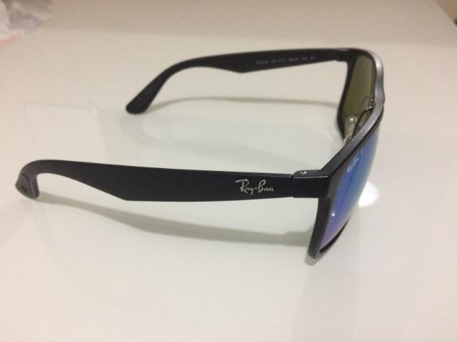 Ray-Ban Chromance Original - Azul Espelhado Polarizado semi-novo ... faa7416c77