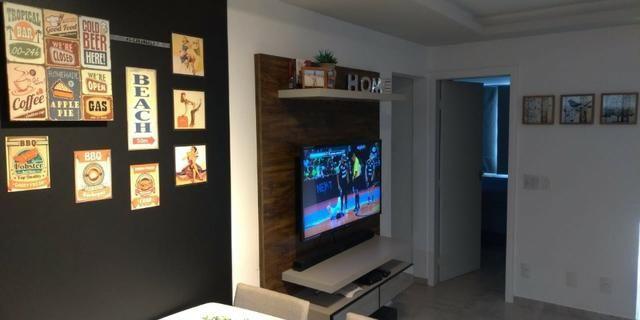 Lindo apartamento de 01 quarto a venda em Jardim Camburi - Foto 8