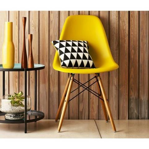 Cadeira Decorativa amarela