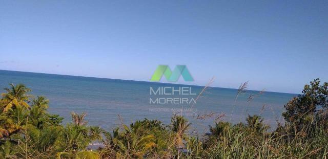 Terreno de 14.000m² - frente para o mar - cumuruxatiba - bahia - Foto 6
