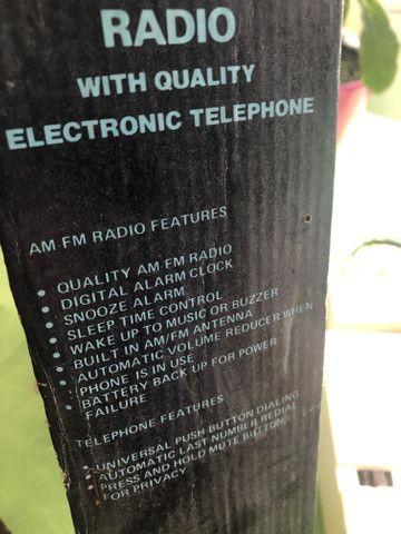 Rádio e telefone relíquia - Foto 3
