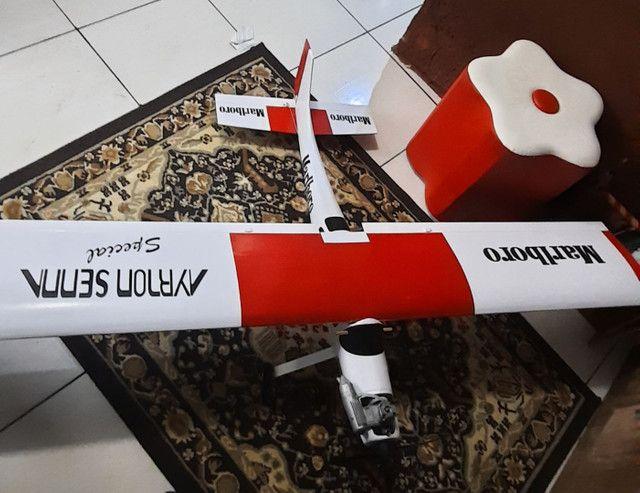 Aeromodelo muleke kit sem radio e reptor
