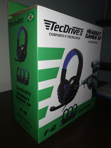Headset Gamer XP TecDrive