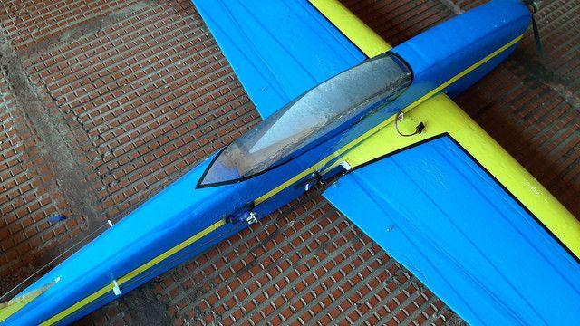 Aeromodelo Pylon em isopor. - Foto 2