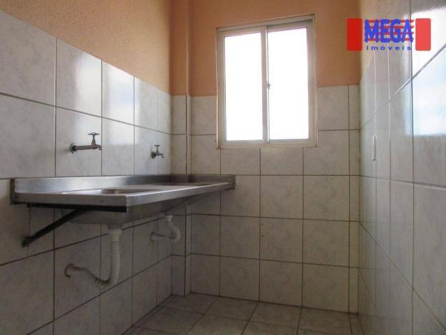 Apartamento com 1 quarto para alugar, no Vila União - Foto 6