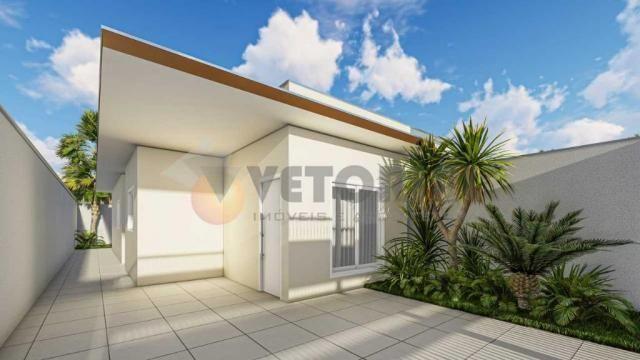 Casa com 2 dormitórios à venda, 68 m² por R$ 250.000 - Golfinho - Caraguatatuba/SP